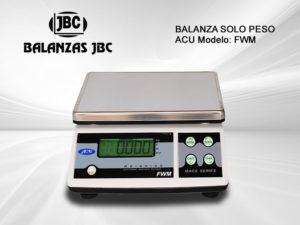 Balanza Solo Peso ACU Modelo FWM