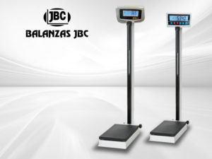 Balanza Pesa Persona con Tallimetro Mecánica Marca JBC Modelo NLD