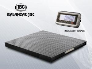Balanza industrial de rampa T-SCALE BWS