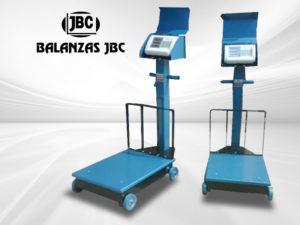 Balanzas Electromecánicas con Ruedas Marca JBC Modelo T-3 300KG