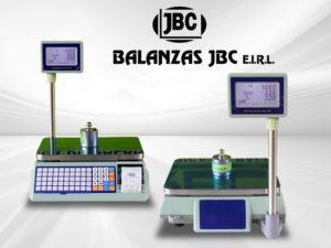 Balanzas electrónicas etiquetadora Excell TP de 30 kg